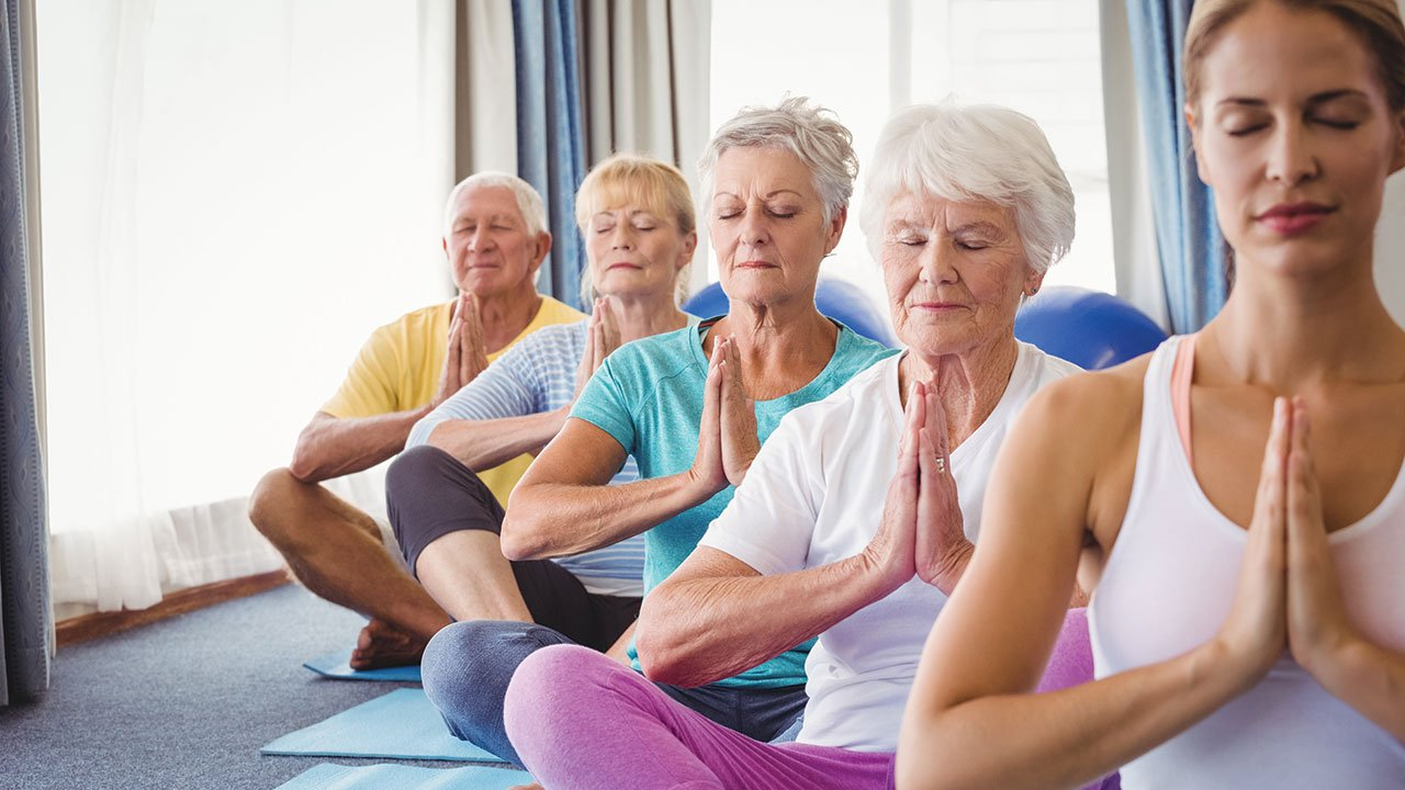 Những bài tập Yoga cho người cao tuổi tốt nhất