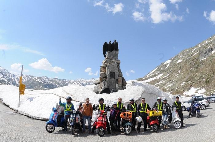 Đi phượt Sapa bằng xe máy có thể ngắm nhìn được toàn quang cảnh nơi đây
